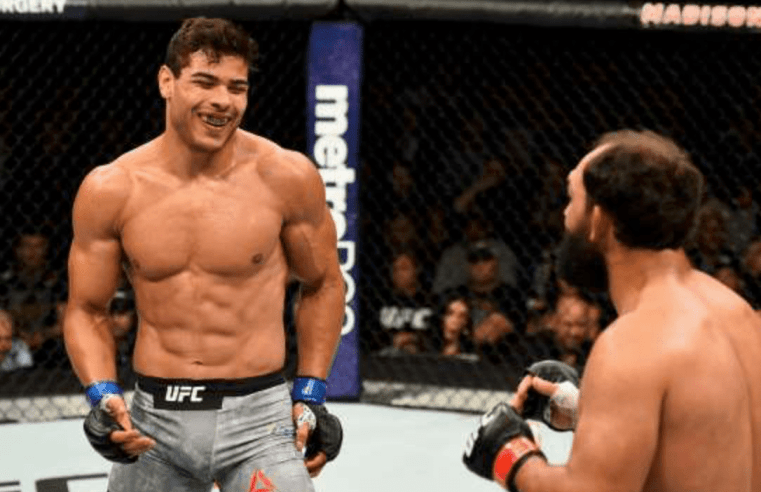 Paulo Costa Suspended For Six Months