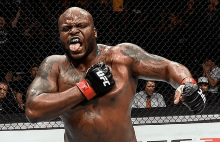 Derrick Lewis Says He'll Finish Junior Dos Santos Whenever He Wants