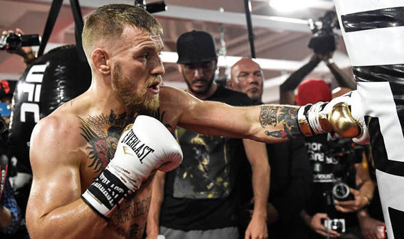 Conor McGregor Sparring And Ready To Fight, Meeting Dana Next Week