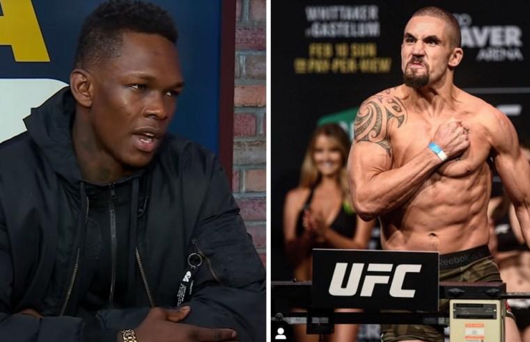 Israel Adesanya Vs Robert Whittaker Official For UFC 243