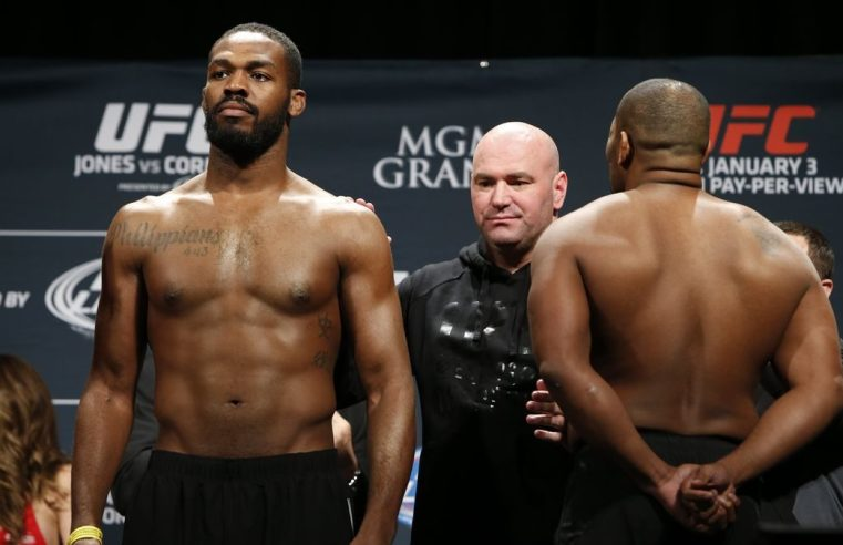 Jon Jones Sends Classy Message To Daniel Cormier
