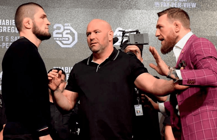 Khabib And McGregor Both Throw Shade Each Other's Way