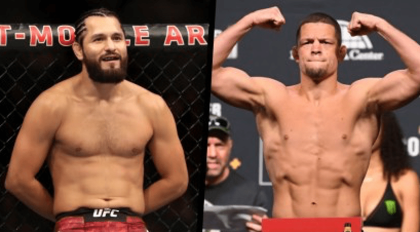 Jorge Masivdal vs Nate Diaz To Headline UFC 244