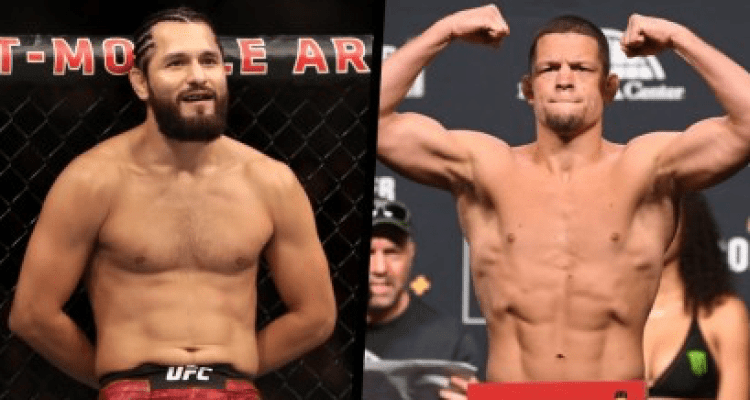 Jorge Masvidal and Nate Diaz UFC 244