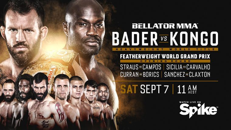 Bellator 226 Results: Bader vs Kongo