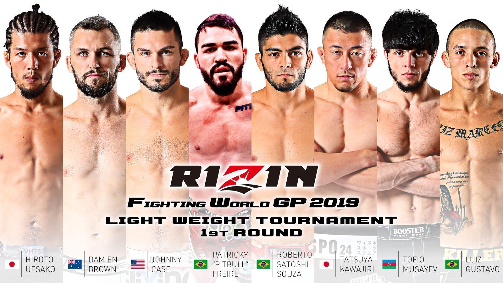 RIZIN 19: Lightweight GP Participants Announced