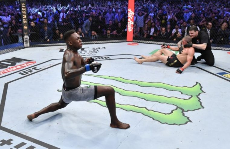 This Is How The MMA World Reacted To Whittaker vs Adesanya