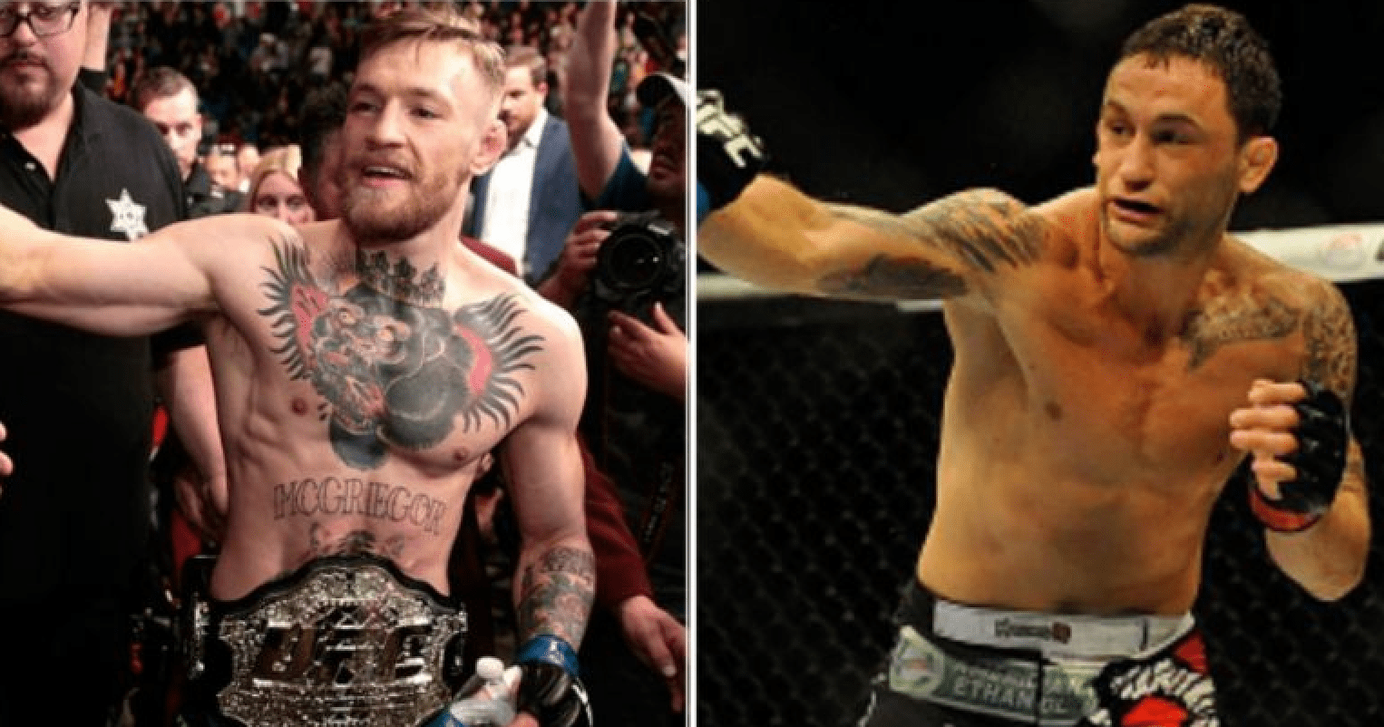Conor McGregor And Frankie Edgar Agree To Fight In December