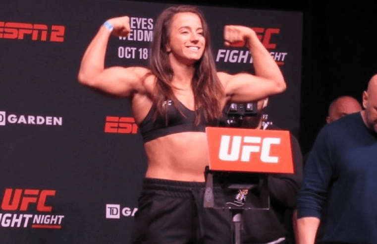 Maycee Barber: It's A Dream Of Mine To Fight On Same Card As McGregor