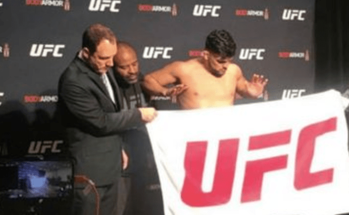 NYSAC Take Action Against Gastelum For UFC 244 Weigh-In Controversy