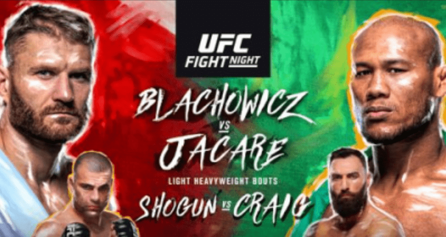 UFC Sao Paulo: Blachowicz vs Souza Results