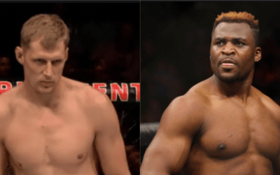 UFC: Francis Ngannou And Alexander Volkov Trade Shots
