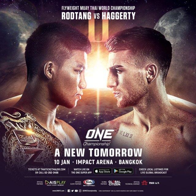 ONE: A New Tomorrow Rodtang vs Haggerty 2