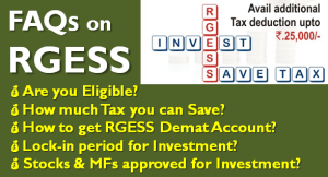 RGESS - Save Taxes upto Rs 25000