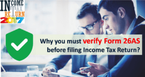 Form 26AS – Verify Before Filing Tax Return
