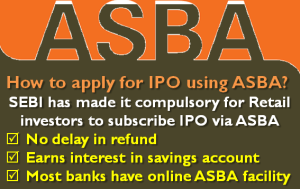 How to apply for IPO using ASBA?