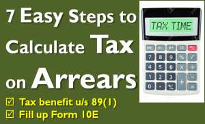 Tax on Arrears