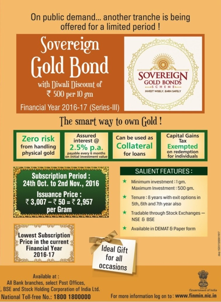 sovereign-gold-bond-series-iii-fy2016-17-october-2016