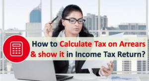 Calculate Tax on Arrears