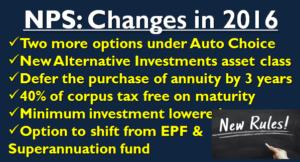 NPS - Rule Changes in 2016