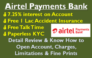 Airtel Payments Bank Review