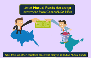 Mutual Funds that accept investment from Canada & USA NRIs