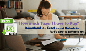 Download Tax Calculator for FY 2017-18