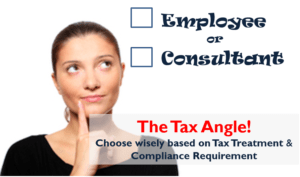 Employee Vs Consultant - The Tax Angle