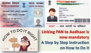How to Link PAN to Aadhaar
