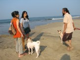 Sungta and Soulkadi stick with us while we chat with Urvashi