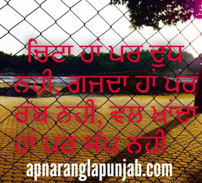 punjabi-bujartan-chitta-ha-par-dudh-nahi