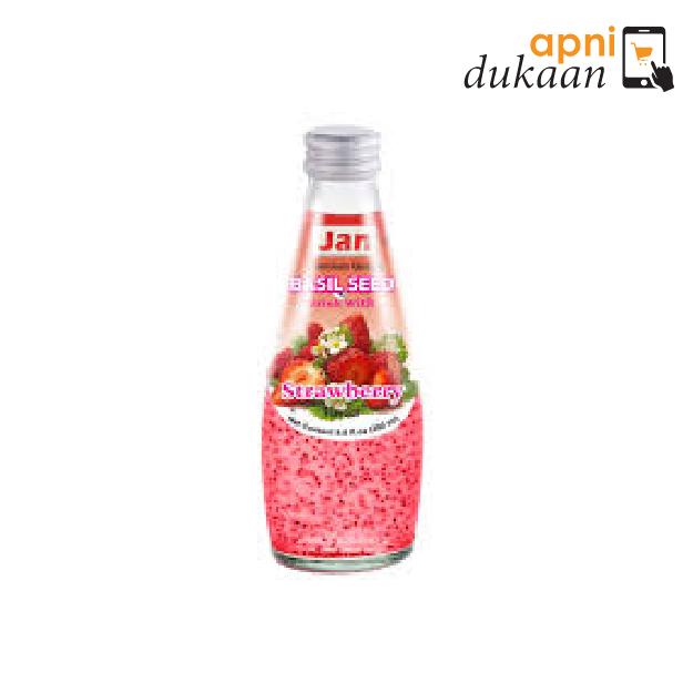 Jan Basil Drink Strawberry 290Ml