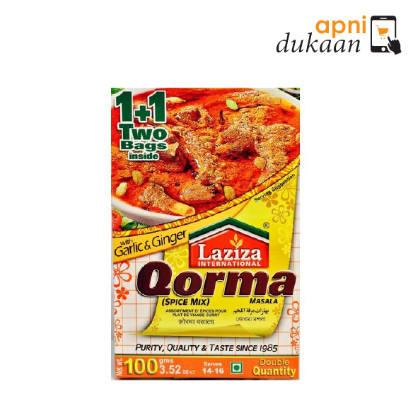 Laziza Qorma Seasoning Mix Masala 100 gm
