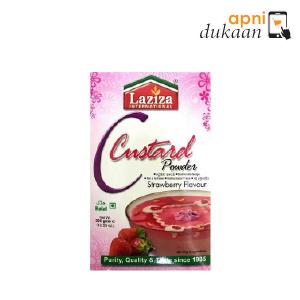 Laziza Strawberry Custard 300 gm
