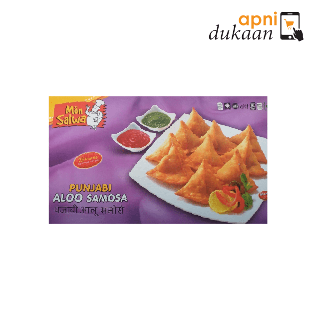 Mon Salwa Punjabi Aloo Samosa – 25 Pieces
