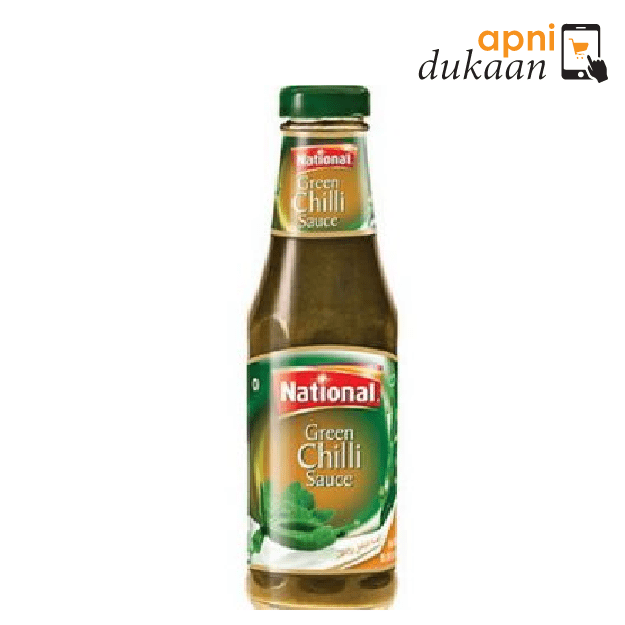 National Green Chilli Sauce 300g