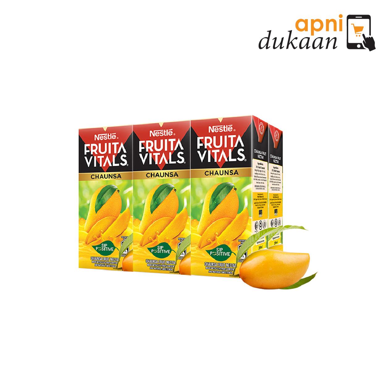 Nestle Fruita Vitals Chaunsa Juice 200ML x 6