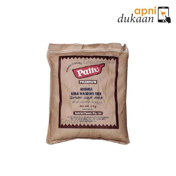 Pattu Premium Sona Masoori Rice 5kg