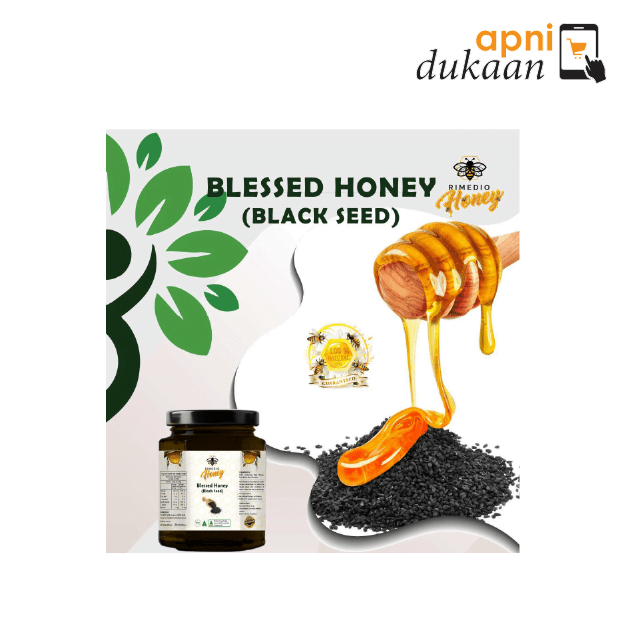 Rimedio Black Seed Honey 250gm