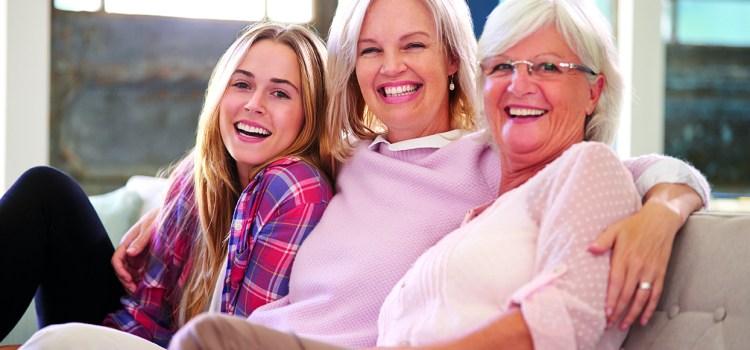 Familie - von jung bis alt - optimale Hautpflege