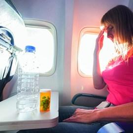Viren an Bord – trockene Luft im Flieger