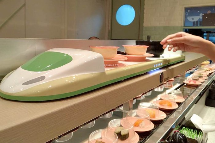 爭鮮迴轉壽司SUSHiPLUS台中新開幕,線上點餐現點現做,新幹線雙軌送餐服務,新鮮多元樂趣多