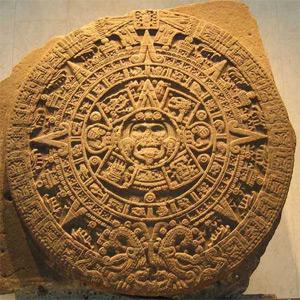 Foto do Calendário Asteca