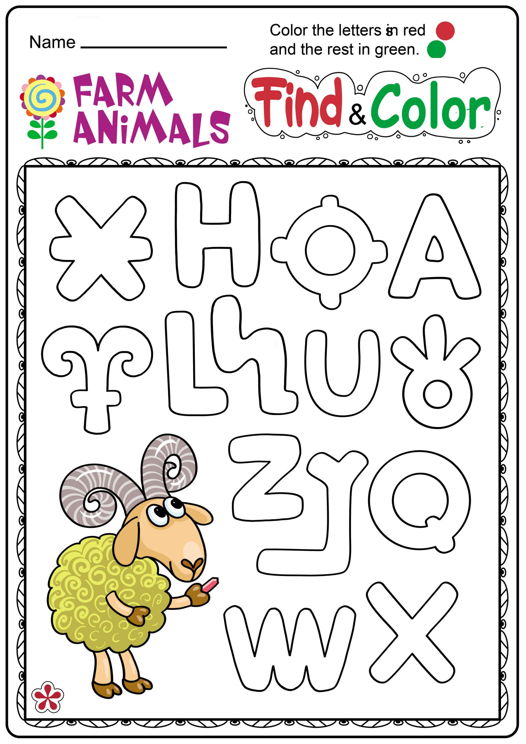 5 Domestic Animals Worksheets For Kids