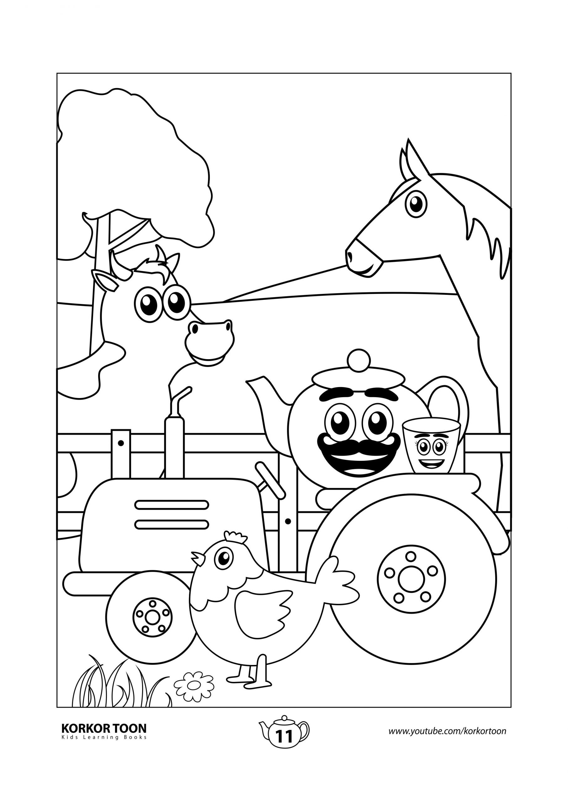 5 Farm Animals Activities Free