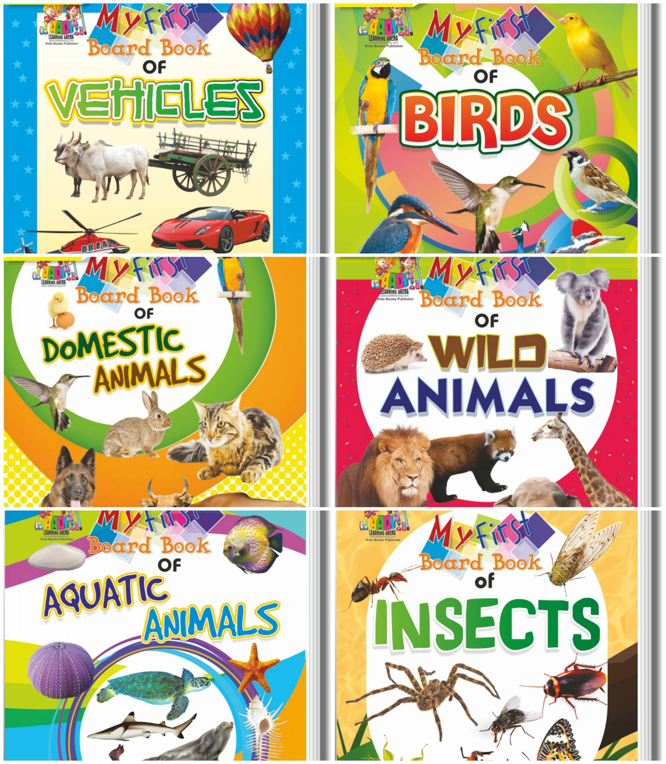 5 Forest Animals Worksheets