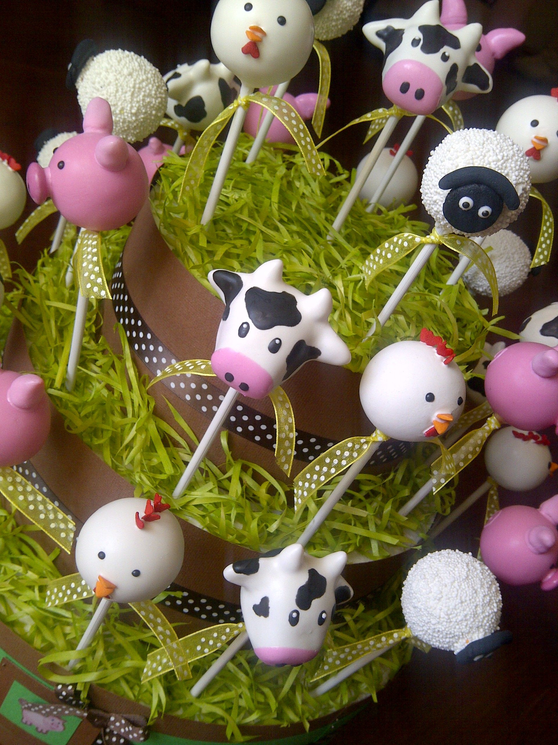 7 Farm Animals Cookies For Kids