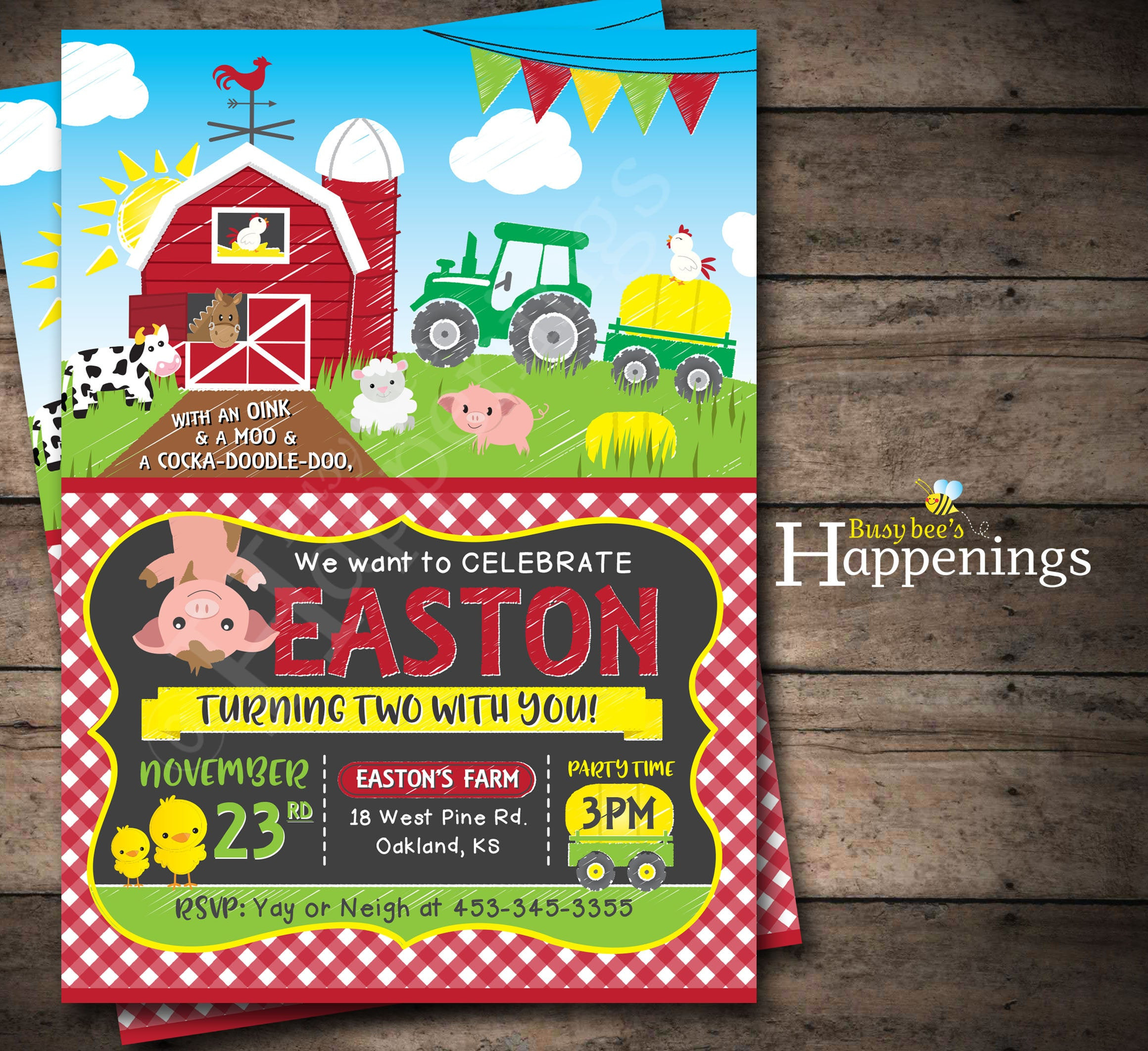 6 Farm Animals Games Birthday Parties