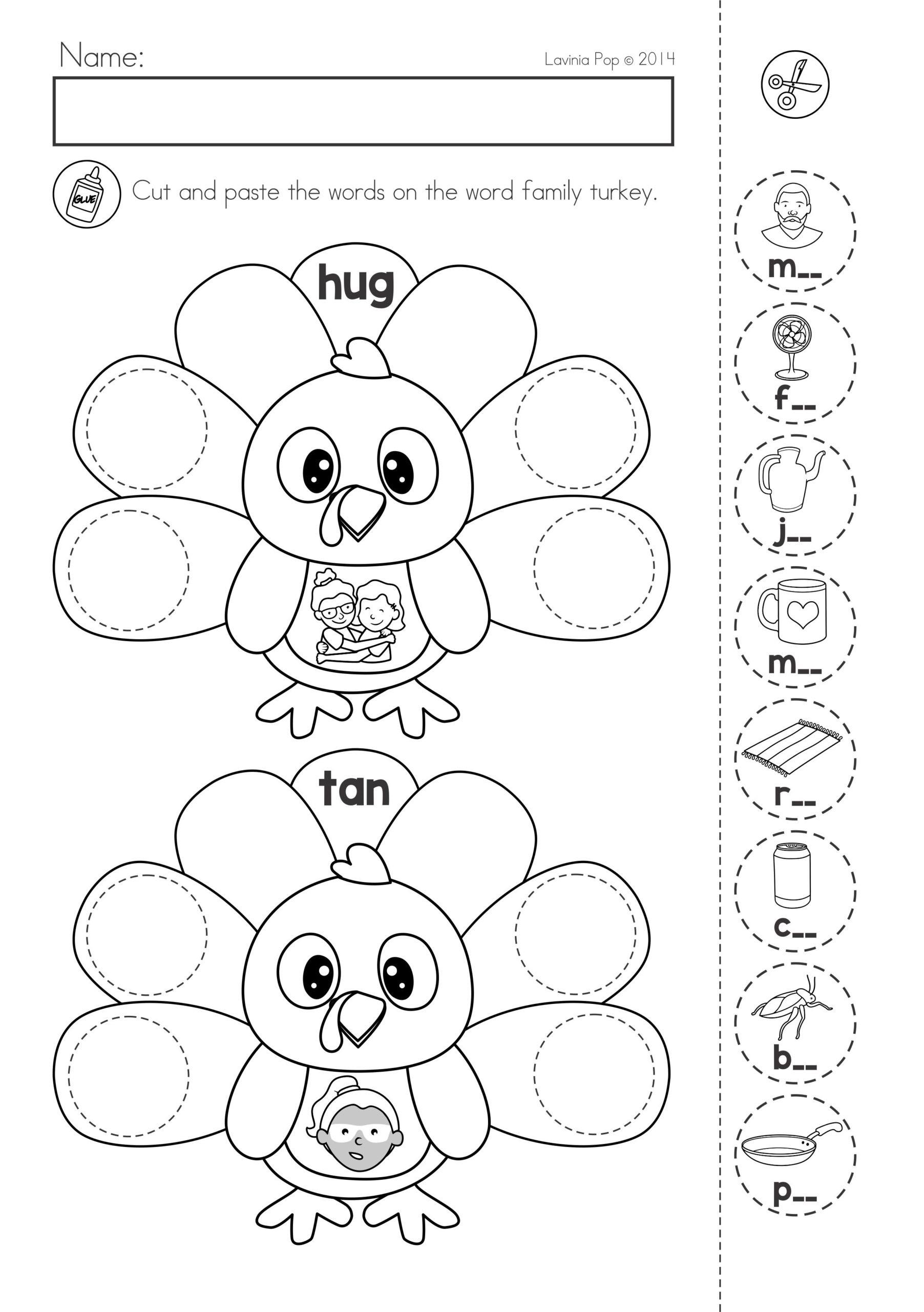 7 Sea Animals Worksheets For Kindergarten