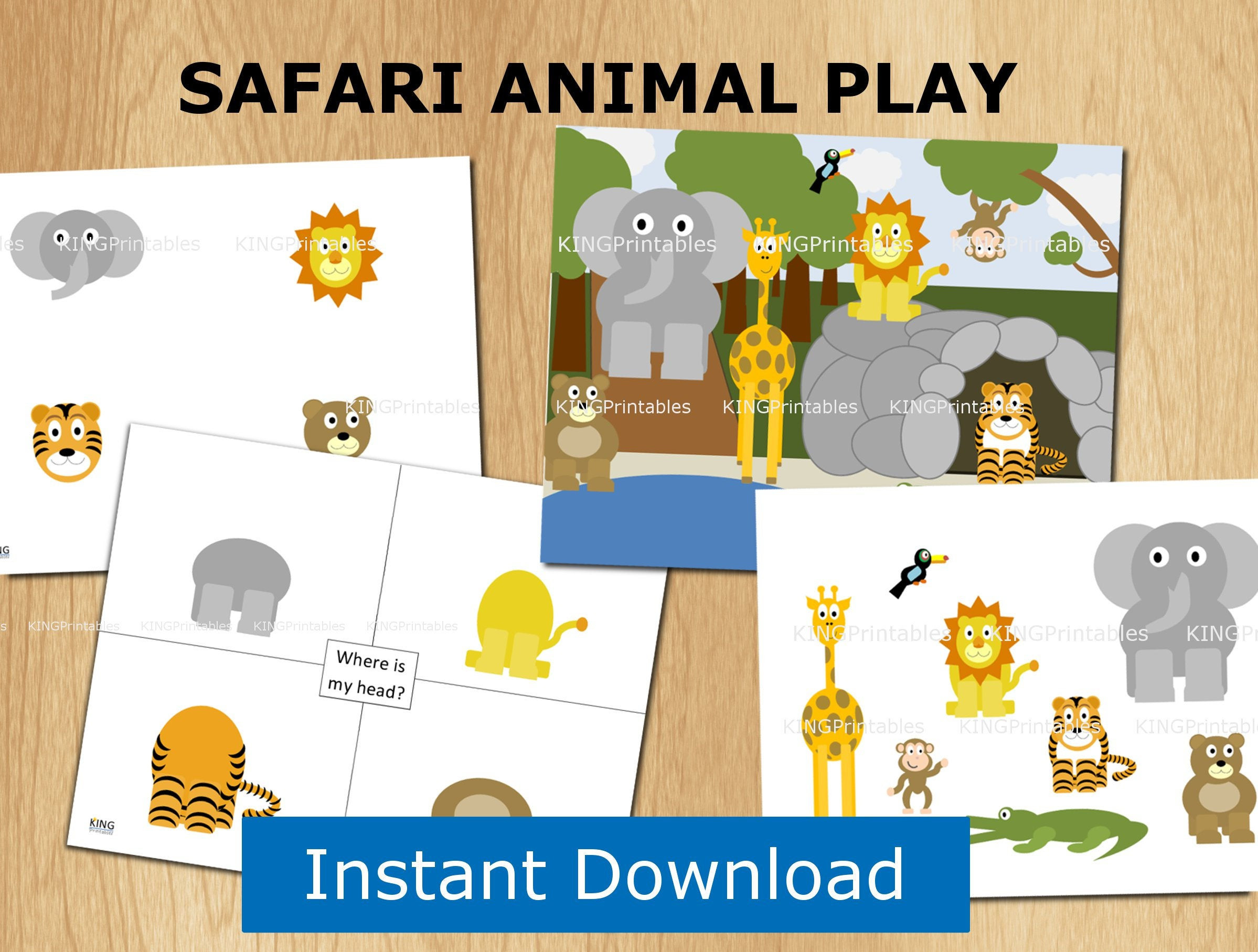 6 Zoo Animals Worksheets Student